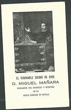 Estampa antigua el Siervo Miguel Maraña andachtsbild santino holy card santini