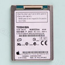 New MK8022GAA 80GB Hard Drive FOR iPod Classic 6th Gen Replace HS081HA MK1231GAL