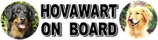HOVAWART ON BOARD Car Sticker By Starprint
