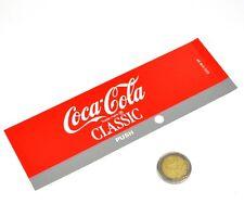 Vintage Coca-Cola Cavalier Automaten Label Beschriftung Schild Machine Tag 01B
