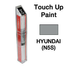 Hyundai OEM Brush&Pen Touch Up Paint Color Code : N5S - Titanium Gray Metallic