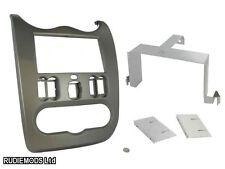 Dacia Logan 2010-2012 Grey Double Din Car Stereo Fitting Kit Facia