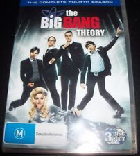 The Big Bang Theory The Complete Fourth Season 4 (Australia Region 4) DVD - NEW