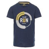 Trespass Kids Boys T-Shirt Short Sleeve Summer Top Quickdry Children 2-12 Years
