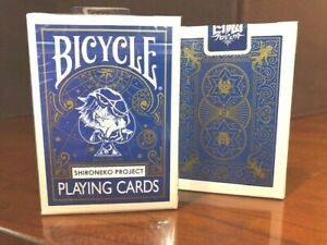 1 DECK Bicycle Shironeko Project Japan playing cards USA SELLER!