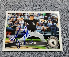 2011 Topps Chicago White Soxs Gavin Floyd  autograph card