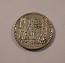 10  Franc SILBERMÜNZE 1930 ALT RAR SELTEN Liberte Egalite Fraternite TOP! (C3)