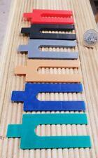576 Kunststoff Distanzplättchen Sortiment Unterlegplättchen 6 Farben 1 - 6 mm