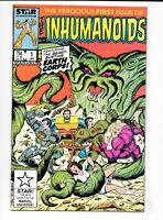 The Inhumanoids #1 1987 VF/NM Marvel Comics