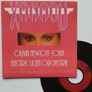 "SP 45T Olivia Newton-John (ONJ) Electric Light Orchestra (ELO) ""Xanadu""  (EX/EX)"