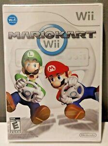 2008 Mario Kart Nintendo Wii Game NEW FACTORY SEALED