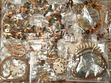 14+ lbs  Vintage to Now Ready to Wear Jewelry Lot Bagged Some Signed Wearable
