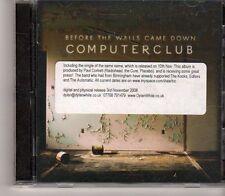 (GA723) Computerclub, Before The Walls Came Down - 2008 DJ CD