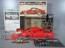 Vintage Tamiya SP005 1/12 Porsche Jagermeister 934 Turbo RSR Red Body Parts Set