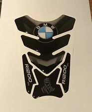 Motorcycle Tank Pad Protector Sticker | (BMW) R1200 GS Black