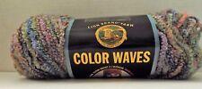 Lion Brand Color Waves Yarn ~ Pebble Beach ~ 125 Yards/113 meters ~ #5 Bulky ~