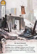 Winterfell AGoT LCG 2.0 Game of Thrones Alternate Art Promo