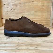 Nordstrom Made In Italy Brown Suede Oxford Shoes Men's Size 11.5