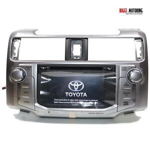 2014-2019 Toyota 4Runner Radio Navigation  Display Screen Cd Player 86100-35372