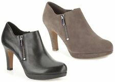 Clarks Zip Suede Boots for Women