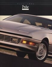1992 Ford Probe and GT 16-page Original Car Sales Brochure Catalog