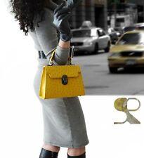 woman ostrich leather handbag , 100 % genuine ostrich skin