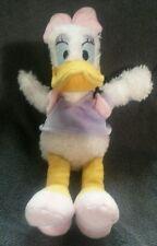 "Daisy Duck Walt Disney Company Plush Beanie Bag Purple & Pink Shirt Pink Bow 10"""