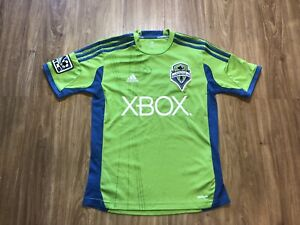 Adidas Seattle Sounders Jersey Size Medium Climacool