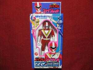 Fiveman FiveRed Figure Super Sentai Chikyuu Popy Bandai Power Rangers Fivemen DX