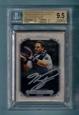 MIKE PIAZZA 2014 TOPPS MUSEUM COLLECTION FRAMED SILVER AUTO /10 BGS 9.5 GEM MINT