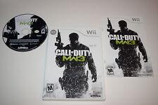 Call of Duty Modern Warfare 3 Nintendo Wii Video Game Complete