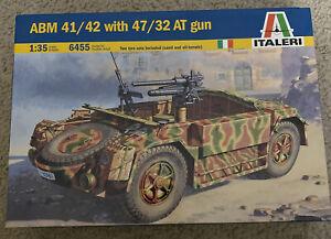 Italeri 1/35 6455 WWII Italian ABM 42 with 47/32 Anti-Tank Gun