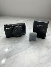 Canon PowerShot G7 X Mark 1 20.2MP Digital Camera - Black (with 24-100 mm Lens)