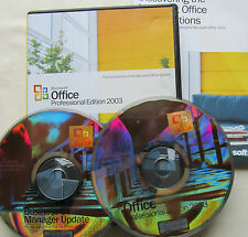 Microsoft Office 2003 Professional Word Excel Powerpoint Publisher Access PRO