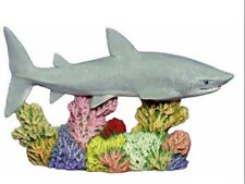 Shark on Coral Ready to Paint, Unpainted, You Paint Ceramic Bisque
