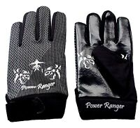 FREE SHIPPING Fighter Gloves MMA POWER RANGER Pro Boxing Gloves All Leather