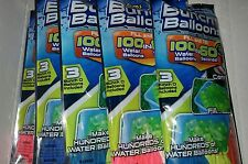 Water Balloon fight self sealing Zuru 5 pack Bunch O Balloons 500 total balloons