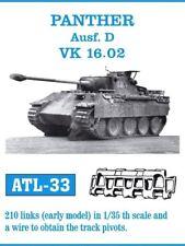 FRIULMODEL ATL-33 1:35 Panther Ausf D VK 16.02 Early (210 Links) Metal Track Kit