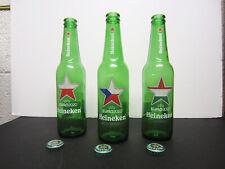 Heineken Euro 2020 Empty Beer Bottles - Poland, Czech Republic, Hungary