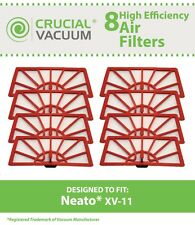 8 Neato XV-11 Air Vacuum Filters, Part # 945-0004 & 945-0023 NEW