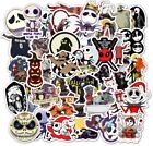 50Pcs Halloween jack Horror stickers Stickers for DIY Laptop Luggage Refrigerato