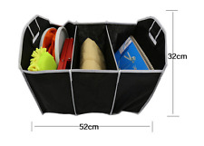 Extra Large Auto Car Trunk Organizer with 3 Compartments