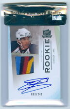 2009-10 THE CUP EVANDER KANE ROOKIE RC AUTO 5 COLOUR LOGO PATCH BGS 9 SHARKS