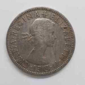 GB QEII 1955 2 shillings N7