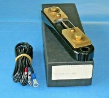 Simpson 6704 External Portable Shunt 10 Amp 50 Mv For Digital Or Analog Meters