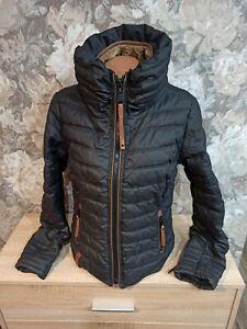 Naketano Women's  winter  jacket black Color size M excellent