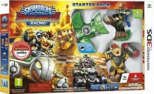 Skylanders Super Chargers Starter Pack (with Bowser Amiibo) Nintendo 3DS