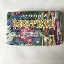 Artist Series Mistral Verbena Luxury Soap 7oz Organic Shea Butter and Olive Oil