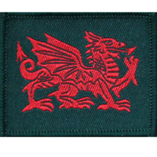 ROYAL WELSH TRF R WELSH BRITISH ARMY FLASH PATCH