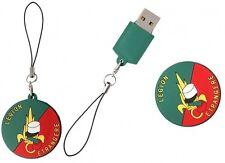 Clé USB LÉGION ÉTRANGÈRE en 3D capacité 8GO - 4 centimètres de diamètre